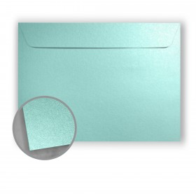 Stardream Lagoon Envelopes - No. 13 Booklet (10 x 13) 81 lb Text Metallic C/2S 500 per Box