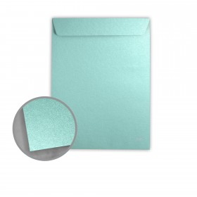 Stardream Lagoon Envelopes - No. 13 1/2 Catalog (10 x 13) 81 lb Text Metallic C/2S 500 per Box
