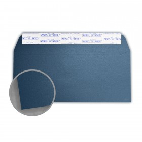 Stardream Lapis Lazuli Envelopes - No. 10 Commercial Peel & Seal (4 1/8 x 9 1/2) 81 lb Text Metallic C/2S 500 per Box