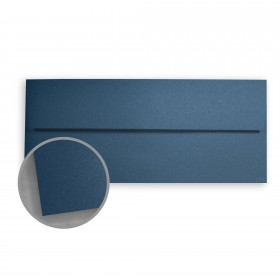 Stardream Lapis Lazuli Envelopes - No. 10 Square Flap (4 1/8 x 9 1/2) 81 lb Text Metallic C/2S 500 per Box