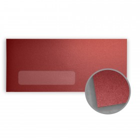 Stardream Mars Envelopes - No. 10 Window (4 1/8 x 9 1/2) 81 lb Text Metallic C/2S 500 per Box
