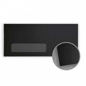 Stardream Onyx Envelopes - No. 10 Window (4 1/8 x 9 1/2) 81 lb Text Metallic C/2S 500 per Box