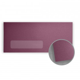 Stardream Punch Envelopes - No. 10 Window (4 1/8 x 9 1/2) 81 lb Text Metallic C/2S 500 per Box