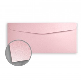 Stardream Rose Quartz Envelopes - No. 10 Commercial (4 1/8 x 9 1/2) 81 lb Text Metallic C/2S 500 per Box