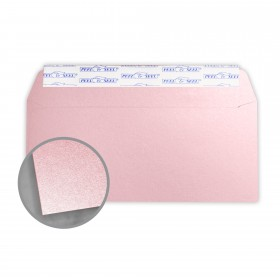 Stardream Rose Quartz Envelopes - No. 10 Commercial Peel & Seal (4 1/8 x 9 1/2) 81 lb Text Metallic C/2S 500 per Box