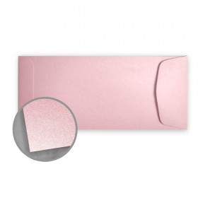 Stardream Rose Quartz Envelopes - No. 10 Policy (4 1/8 x 9 1/2) 81 lb Text Metallic C/2S 500 per Box
