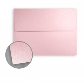 Stardream Rose Quartz Envelopes - A1 (3 5/8 x 5 1/8) 81 lb Text Metallic C/2S 250 per Box