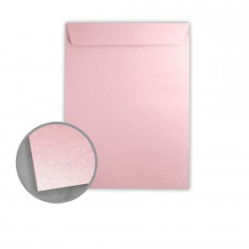 Stardream Rose Quartz Envelopes - No. 10 1/2 Catalog (9 x 12) 81 lb Text Metallic C/2S 500 per Box