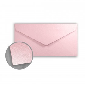 Stardream Rose Quartz Envelopes - Monarch (3 7/8 x 7 1/2) 81 lb Text Metallic C/2S 400 per Box