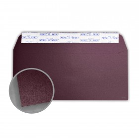 Stardream Ruby Envelopes - No. 10 Commercial Peel & Seal (4 1/8 x 9 1/2) 81 lb Text Metallic C/2S 500 per Box
