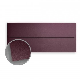 Stardream Ruby Envelopes - No. 10 Square Flap (4 1/8 x 9 1/2) 81 lb Text Metallic C/2S 500 per Box