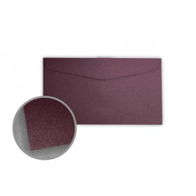 Stardream Ruby Envelopes - No. 6 3/4 Regular (3 5/8 x 6 1/2) 81 lb Text Metallic C/2S 400 per Box