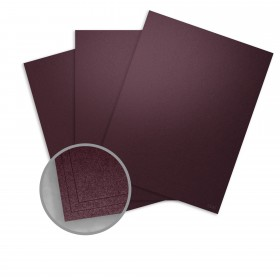 Stardream Ruby Card Stock - 28.3 x 40.2 in 105 lb Cover Metallic C/2S 100 per Package