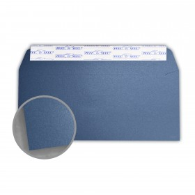 Stardream Sapphire Envelopes - No. 10 Commercial Peel & Seal (4 1/8 x 9 1/2) 81 lb Text Metallic C/2S 500 per Box