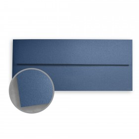 Stardream Sapphire Envelopes - No. 10 Square Flap (4 1/8 x 9 1/2) 81 lb Text Metallic C/2S 500 per Box