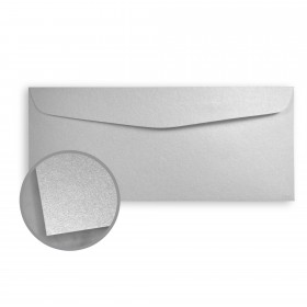 Stardream Silver Envelopes - No. 9 Regular (3 7/8 x 8 7/8) 81 lb Text Metallic C/2S 500 per Box