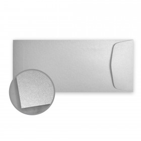 Stardream Silver Envelopes - No. 10 Policy (4 1/8 x 9 1/2) 81 lb Text Metallic C/2S 500 per Box