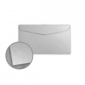 Stardream Silver Envelopes - No. 6 3/4 Regular (3 5/8 x 6 1/2) 81 lb Text Metallic C/2S 400 per Box