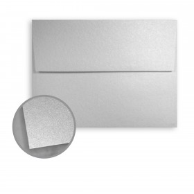 Stardream Silver Envelopes - A1 (3 5/8 x 5 1/8) 81 lb Text Metallic C/2S 250 per Box