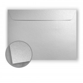 Stardream Silver Envelopes - No. 13 Booklet (10 x 13) 81 lb Text Metallic C/2S 500 per Box