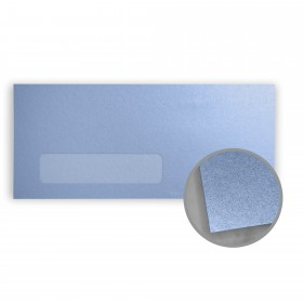 Stardream Vista Envelopes - No. 10 Window (4 1/8 x 9 1/2) 81 lb Text Metallic C/2S 500 per Box