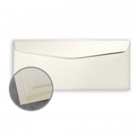 STARWHITE Flash Pearl Envelopes - No. 10 Commercial (4 1/8 x 9 1/2) 80 lb Text Smooth C/2S 500 per Box