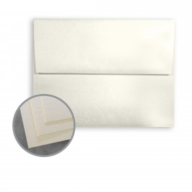 STARWHITE Flash Pearl Envelopes - A2 (4 3/8 x 5 3/4) 80 lb Text Smooth C/2S 250 per Box