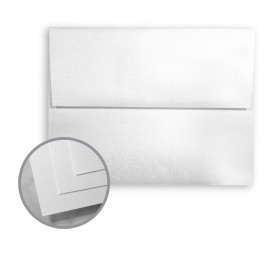 STARWHITE Flash White Envelopes - A7 (5 1/4 x 7 1/4) 80 lb Text Smooth C/2S 250 per Box