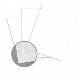 STARWHITE Tiara Card Stock - 23 x 35 in 80 lb Cover Vellum 500 per Carton