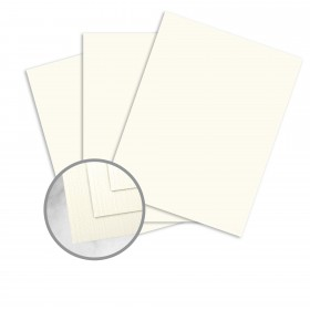 Strathmore Premium Cambric Natural White Paper - 35 x 23 in 24 lb Writing Linen  30% Recycled Watermarked 1000 per Carton