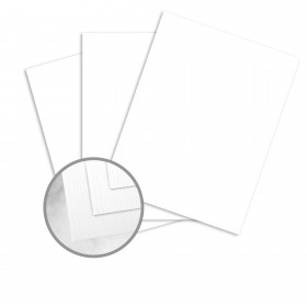 Strathmore Premium Cambric Platinum White Paper - 35 x 23 in 24 lb Writing Linen Watermarked 1000 per Carton