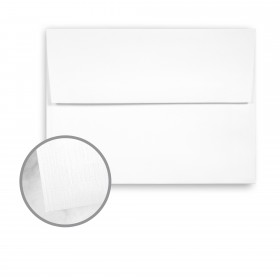 Strathmore Premium Cambric Ultimate White Envelopes - A7 (5 1/4 x 7 1/4) 70 lb Text Linen 250 per Box