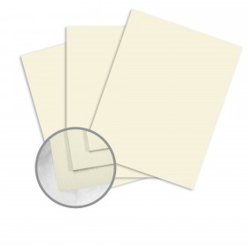 Strathmore Premium Enhance Ivory Paper - 8 1/2 x 11 in 24 lb Writing Silk  30% Recycled Watermarked 500 per Ream