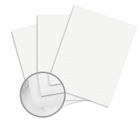 Strathmore Premium Enhance Ultimate White Card Stock - 35 x 23 in 100 lb Cover Silk 250 per Carton
