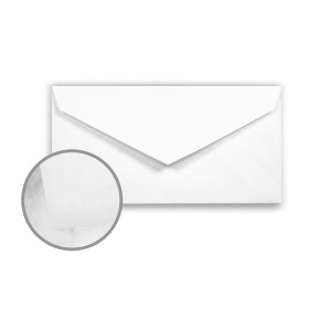 Strathmore Premium Enhance Ultimate White Envelopes - Monarch (3 7/8 x 7 1/2) 24 lb Writing Silk Watermarked 500 per Box