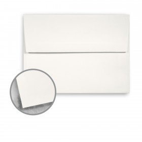 Strathmore Premium Smooth Soft White Envelopes - A2 Square Flap (4 3/8 x 5 3/4) 80 lb Text Smooth  30% Recycled 250 per Box