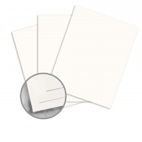 Strathmore Premium Smooth Soft White Paper - 8 1/2 x 11 in 24 lb Writing Smooth  30% Recycled Watermarked 500 per Ream