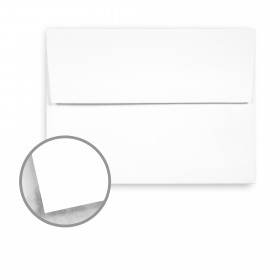 Strathmore Premium Smooth Ultimate White Envelopes - A7 Square Flap (5 1/4 x 7 1/4) 70 lb Text Smooth 250 per Box
