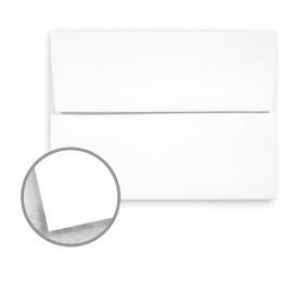 Strathmore Premium Supersmooth Ultimate White Envelopes - A2 Square Flap (4 3/8 x 5 3/4) 70 lb Text Super Smooth 250 per Box