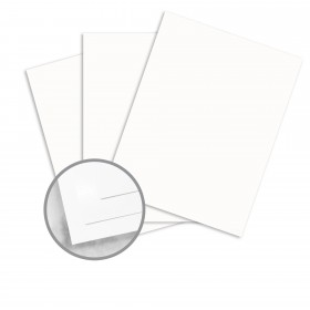 Strathmore Premium Supersmooth Bright White Card Stock - 26 x 40 in 80 lb Cover Super Smooth  30% Recycled 500 per Carton