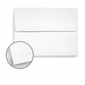 Strathmore Premium Supersmooth Bright White Lines Envelopes - A7 Square Flap (5 1/4 x 7 1/4) 28 lb Writing Super Smooth  30% Recycled 250 per Box