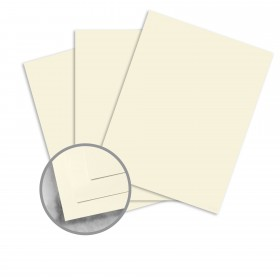 Strathmore Premium Supersmooth Ivory Card Stock - 26 x 40 in 80 lb Cover Super Smooth  30% Recycled 500 per Carton
