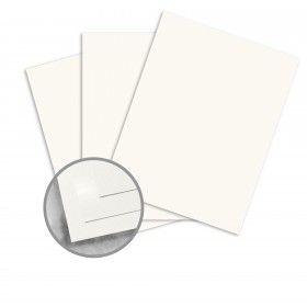 Strathmore Premium Supersmooth Soft White Lines Paper - 8 1/2 x 11 in 28 lb Writing Super Smooth  30% Recycled 500 per Ream