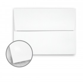 Strathmore Premium Supersmooth Ultimate White Envelopes - A7 Square Flap (5 1/4 x 7 1/4) 70 lb Text Super Smooth 250 per Box