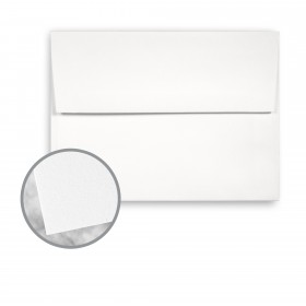 Strathmore Premium Wove 100% PC White Envelopes - A6 Square Flap (4 3/4 x 6 1/2) 70 lb Text Wove  100% Recycled 250 per Box