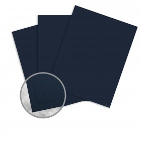 Strathmore Premium Wove Blazer Blue Card Stock - 26 x 40 in 100 lb Cover Wove  30% Recycled 300 per Carton