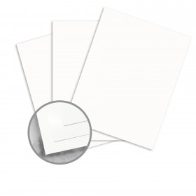 Strathmore Premium Wove Bright White Card Stock - 35 x 23 in 80 lb Cover Wove  30% Recycled 500 per Carton