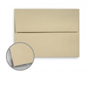 Strathmore Premium Wove Desert Haze Envelopes - A6 Square Flap (4 3/4 x 6 1/2) 70 lb Text Wove  30% Recycled 250 per Box