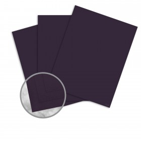 Strathmore Premium Wove Eggplant Card Stock - 26 x 40 in 100 lb Cover Wove  30% Recycled 300 per Carton