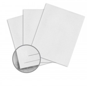 Strathmore Premium Wove Glacier Mist Card Stock - 8 1/2 x 11 in 80 lb Cover Wove  30% Recycled 250 per Package
